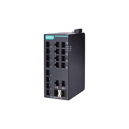 可网管型交换机_EDS-2018-ML 系列 - 非网管型交换机 | MOXA